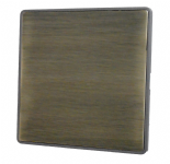Screwless Antique Bronze Blanking Plates